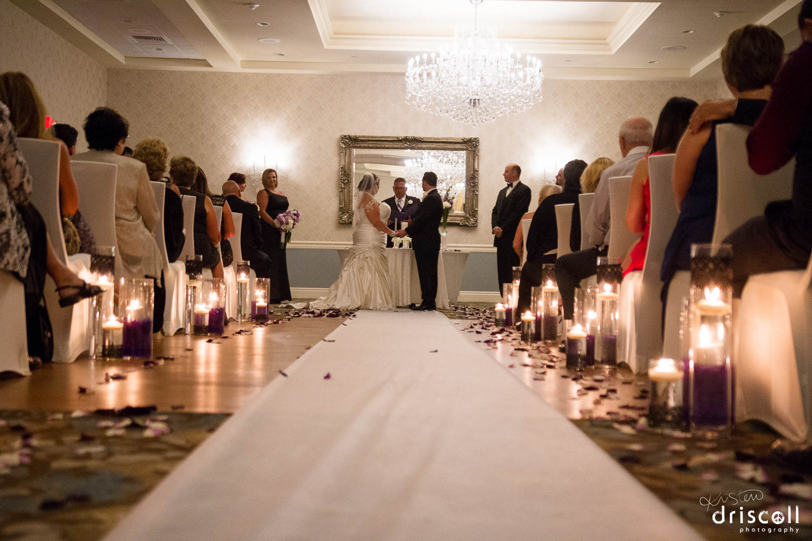 Indoor Ceremonies At Our Por Nj Wedding Venue Crystal Ballroom Of Freehold