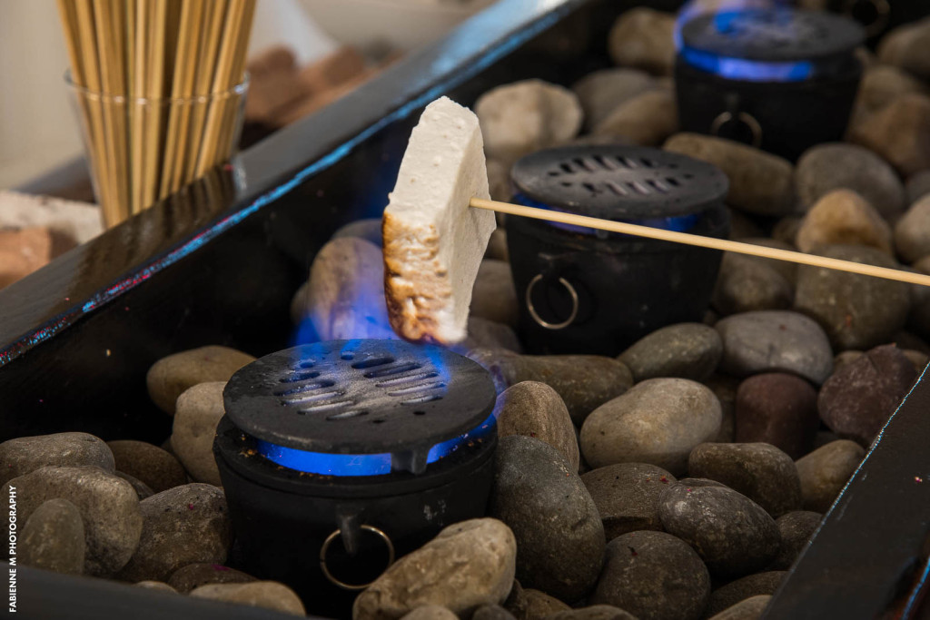 S'more Love Station for events in the Crystal Ballroom, NJ wedding venue