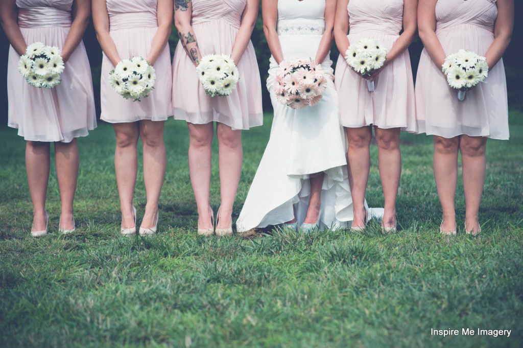 Spring Crystal Ballroom Bride and Bridesmaids in Freehold, NJ