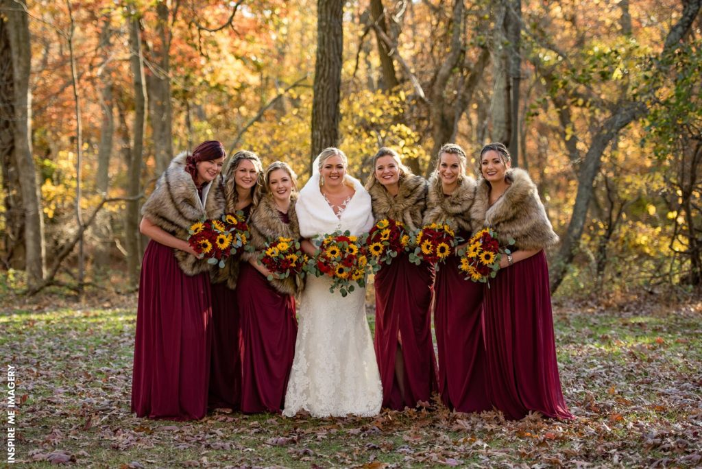 Bold Fall Wedding Colors