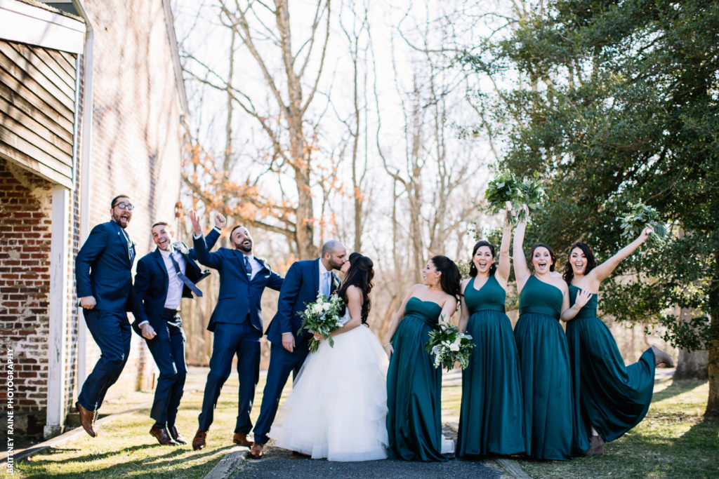 Stephanie and Tyler Bridal Party