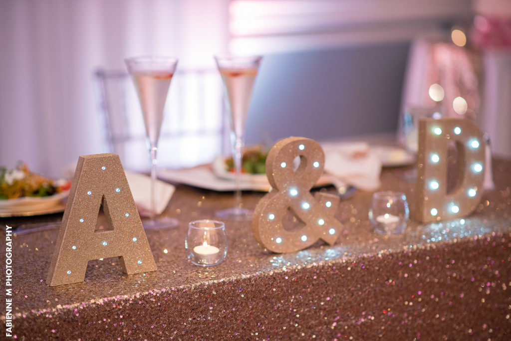 Table Decor Glitter