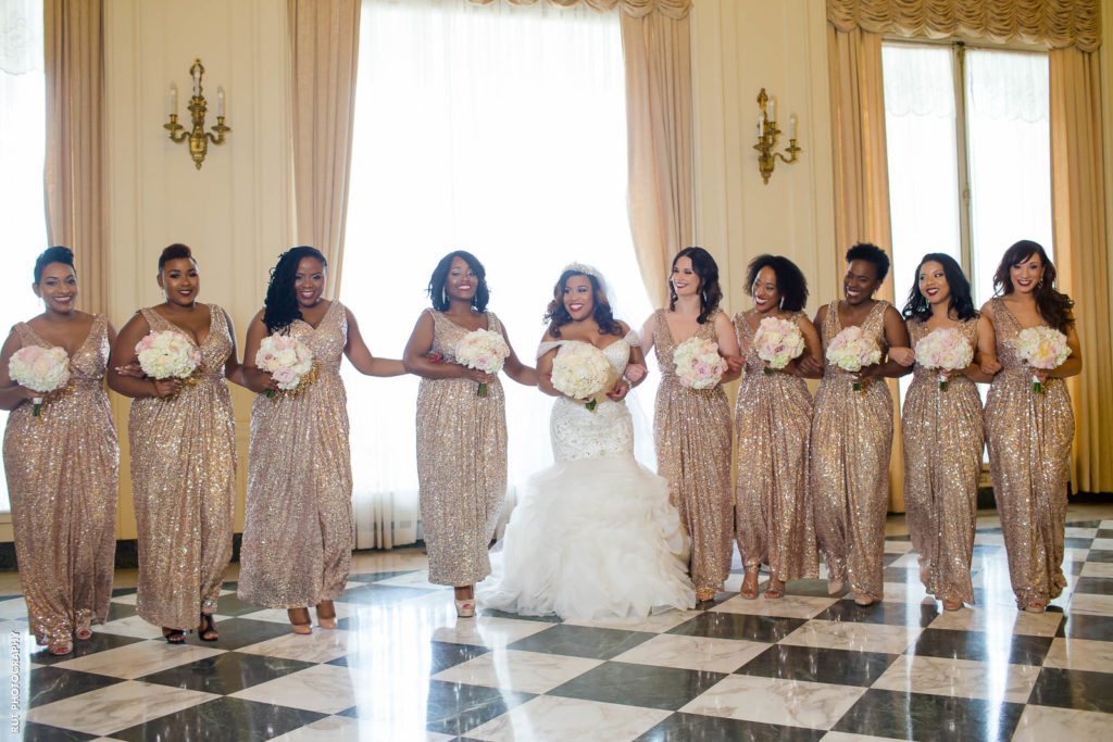 Glitter Bridal Party