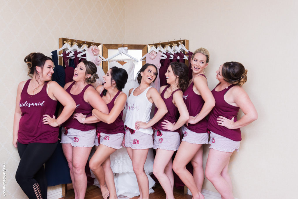bridesmaids sleepover