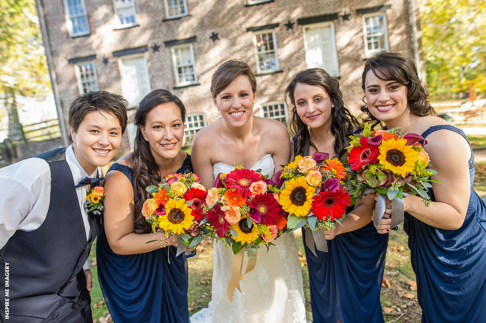 "Color Combinations You'll ""Fall in Love"" With for a Fall Wedding 
