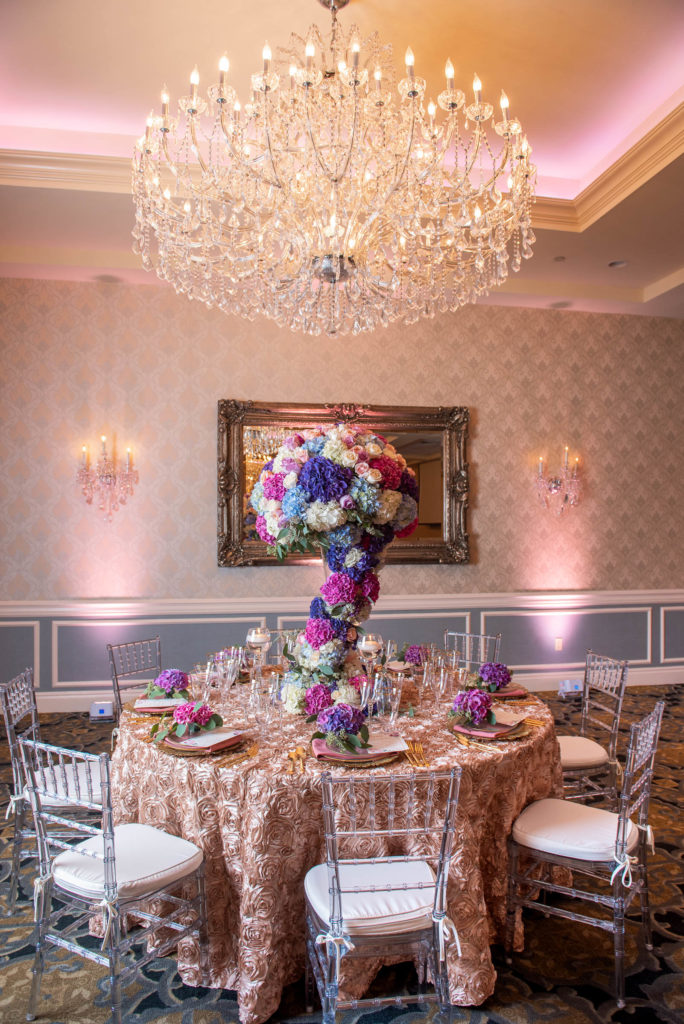 We were blown away by Stylish Affair's talent. They created this entire centerpiece!
