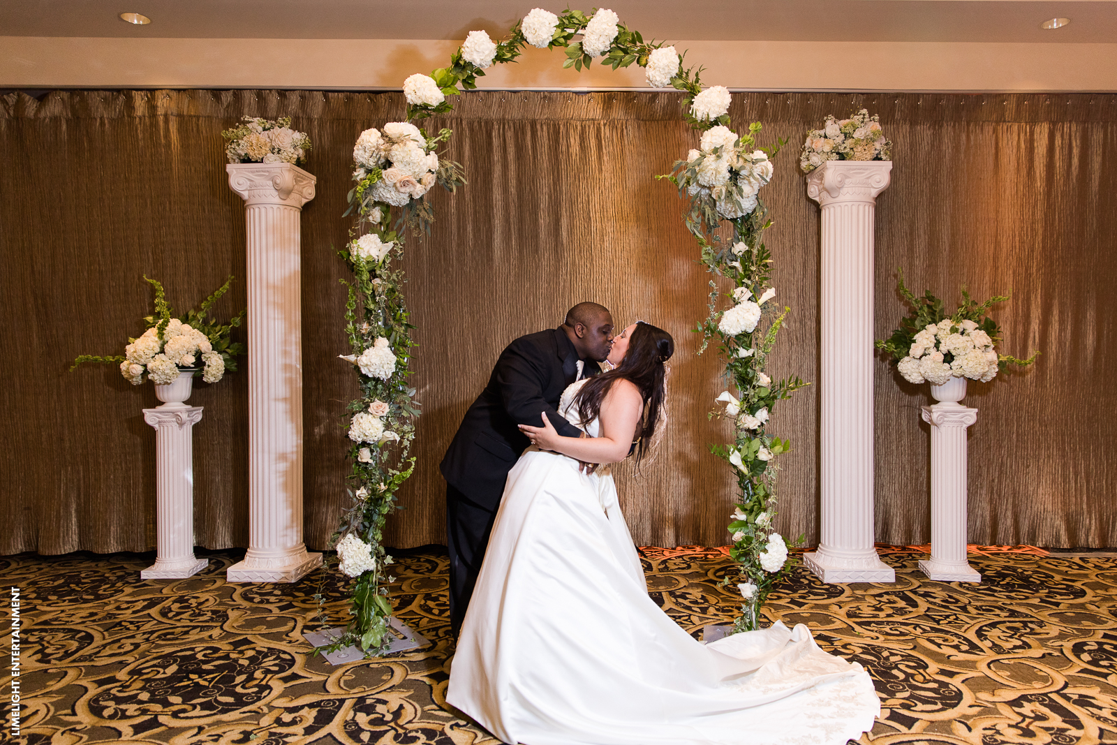 Wedding Ceremony Aisle Ideas Crystal Ballroom Freehold Nj